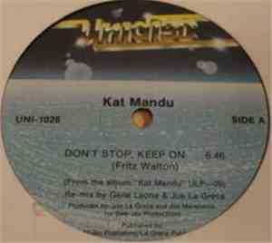Kat Mandu - Don't Stop, Keep On mp3 flac