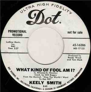 Keely Smith - What Kind Of Fool Am I? mp3 flac