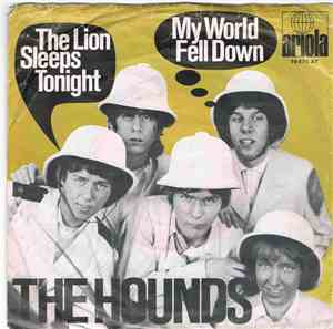 The Hounds  - The Lion Sleeps Tonight / My World Fell Down mp3 flac