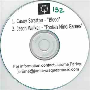 Casey Stratton / Jason Walker - Blood / Foolish Mind Games