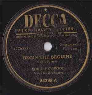 Eddie Heywood And His Orchestra - Begin The Beguine / Lover Man (Oh, Where Can You Be?)
