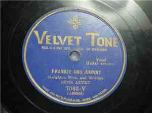 Gene Autry - Frankie And Johnny / No One To Call Me Darling