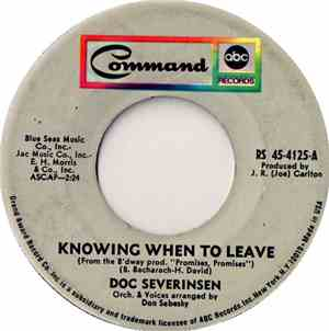 Doc Severinsen - Knowing When To Leave mp3 flac