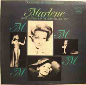 Marlene Dietrich - Marlene - Songs In German By The Inimitable Dietrich mp3 flac