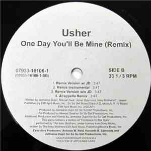 Usher - T.T.P. / One Day You'll Be Mine (Remix) mp3 flac