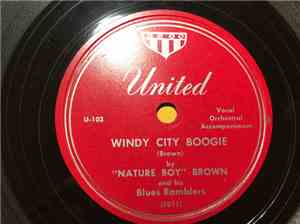 Nature Boy Brown And His Blues Ramblers - Windy City Boogie / Blackjack Blu ... mp3 flac