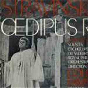 Stravinsky, Colin Davis Conducting The Royal Philharmonic Orchestra - Jean Marais - Oedipus Rex