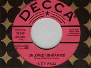 Kitty Wells - Unloved Unwanted / Au Revoir mp3 flac
