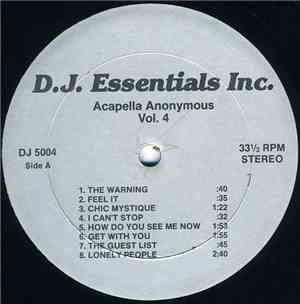 Various - Acapella Anonymous Vol. 4 mp3 flac