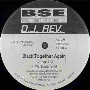 D.J. Rev. - Black Together Again mp3 flac