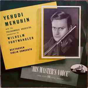 Beethoven : Yehudi Menuhin With The Philharmonia Orchestra Conducted By Wil ... mp3 flac