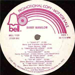 Barry Manilow - Barry Manilow mp3 flac