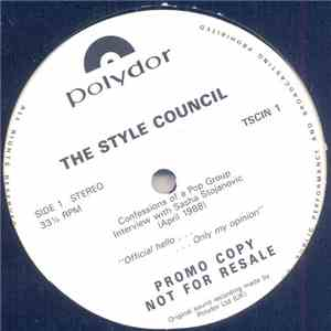 The Style Council - Confessions Of A Pop Group - Interview With Sasha Stoja ... mp3 flac