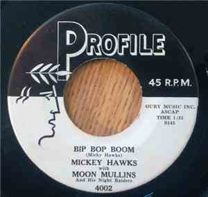 Mickey Hawks With Moon Mullins And His Night Raiders - Bip Bop Boom / Rock  ... mp3 flac