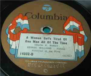 George Williams  - A Woman Get's Tired Of One Man All Of The Time / The Gal ... mp3 flac