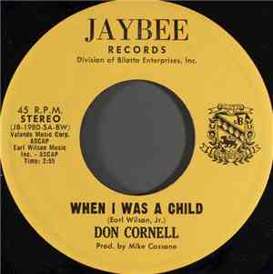 Don Cornell - When I Was A Child mp3 flac