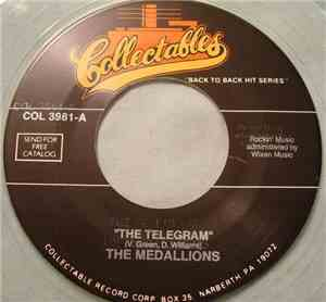 The Medallions - The Telegram mp3 flac